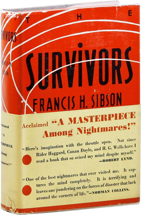 The Survivors. Francis Henry SIBSON.