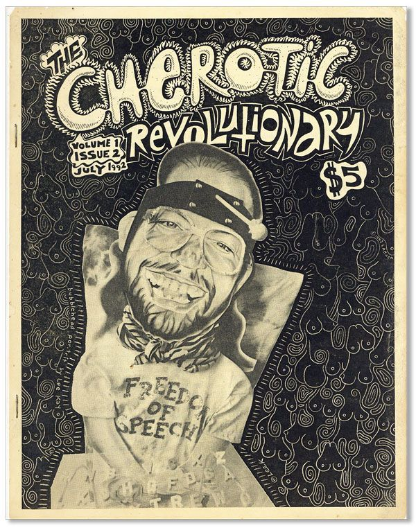 The Cherotic Revolutionary - Vol.1, Issue 2 (July, 1992). Frank MOORE
