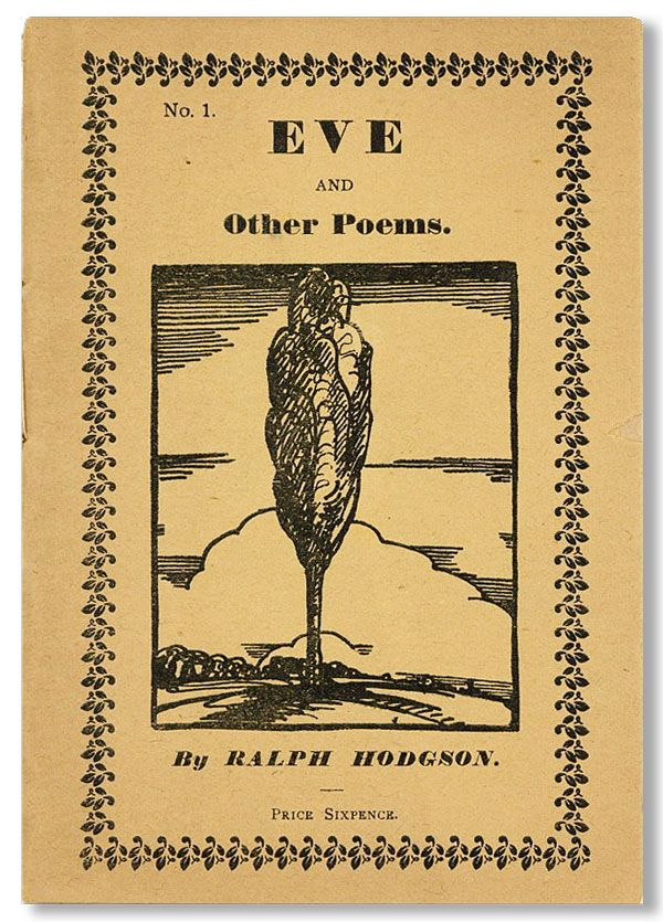 Eve and Other Poems. Ralph HODGSON