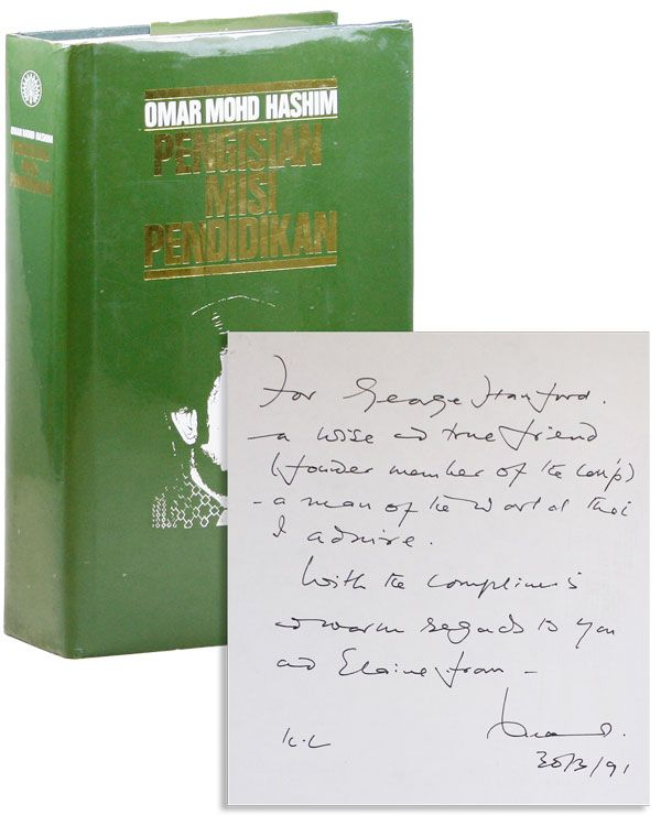 Pengisian Misi Pendidikan (Charging Educational Mission) [Inscribed, with 2pp ALS]. Omar Mohd HASHIM.