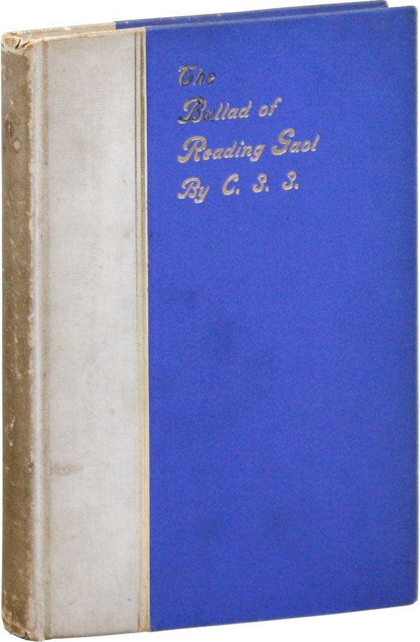 The Ballad of Reading Gaol. pseud. Oscar Wilde, RADICAL, PROLETARIAN LITERATURE