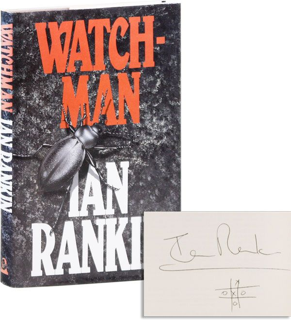 Watchman [Signed with Original Drawing]. Ian RANKIN