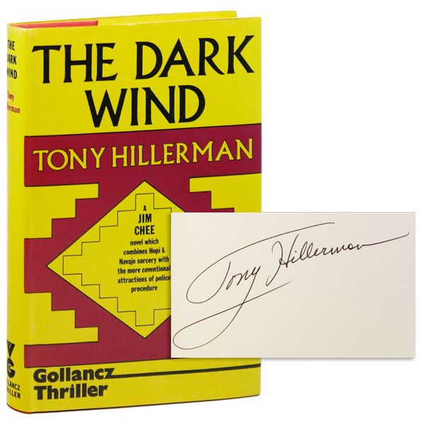 The Dark Wind [Signed]. Tony HILLERMAN