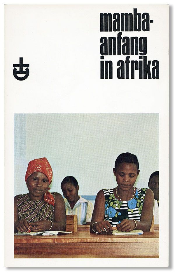Mamba -- Anfang in Afrika. Gerhard ALTHAUS, ed Hans Ludwig Althaus