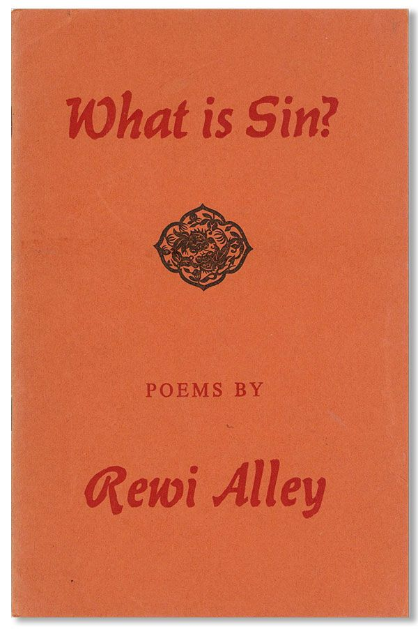 What is Sin? Rewi ALLEY