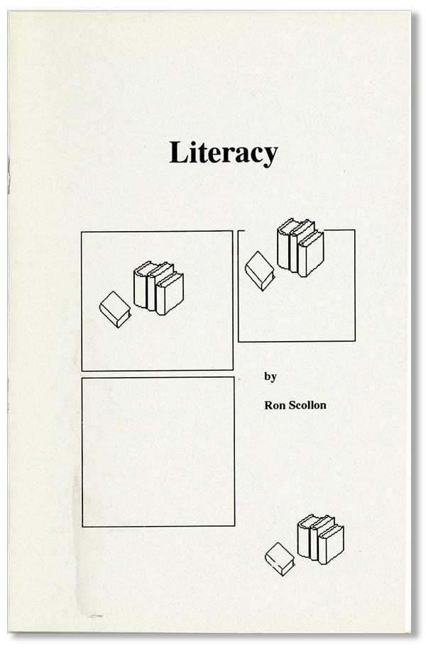 Literacy. Ron SCOLLON.