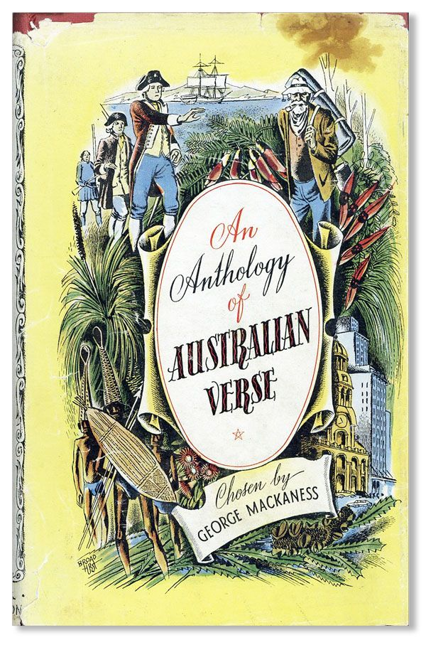 An Anthology of Australian Verse. George MACKANESS, ed