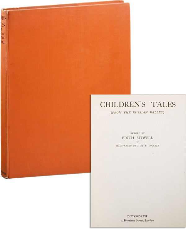 Children's Tales (From the Russian Ballet). Edith SITWELL, illus I. de B. Lockyer.