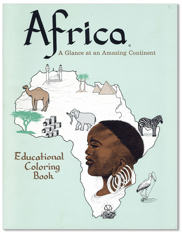 Africa: A Glance at an Amazing Continent. AFRICAN AMERICANS, Ayanna ZAREEF, CHILDREN.