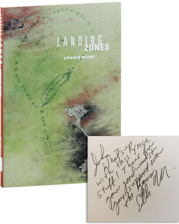 Landing Zones [Inscribed & Signed]. Edward MICUS