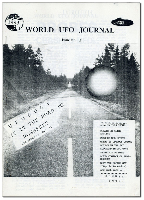 World UFO Journal Issue no. 3, Summer, 1993. COSMOLOGY NEWS