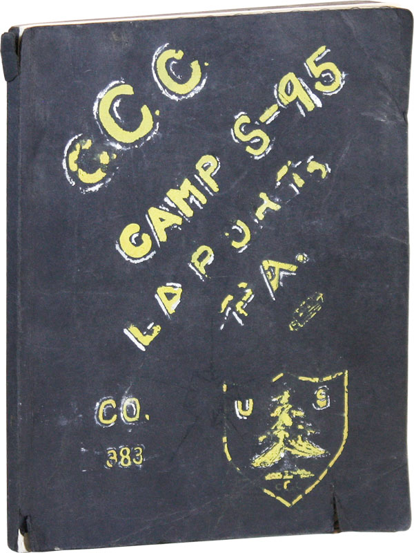My CCC History. CIVILIAN CONSERVATION CORPS, Edward BERTON.