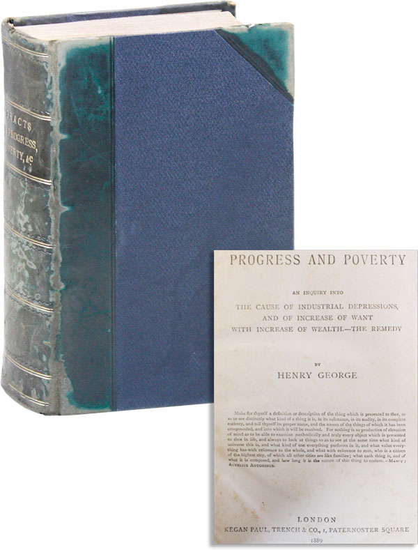 Sammelband of Six Tracts on Economics and Socialism [Progress and Poverty [AND] Merrie England...