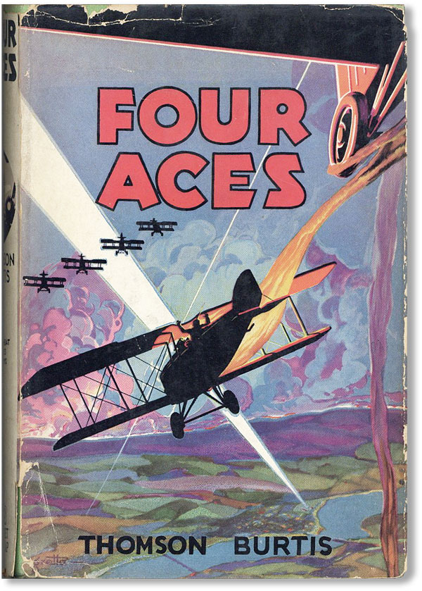 Four Aces (Air Combat Stories, no. 2). Thomson BURTIS