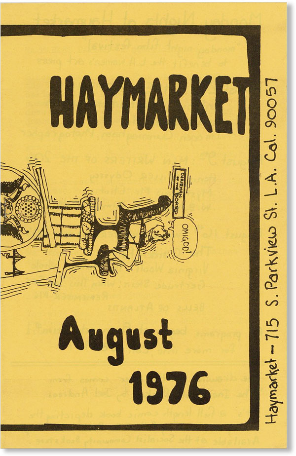Haymarket. August 1976. Joel ANDREAS