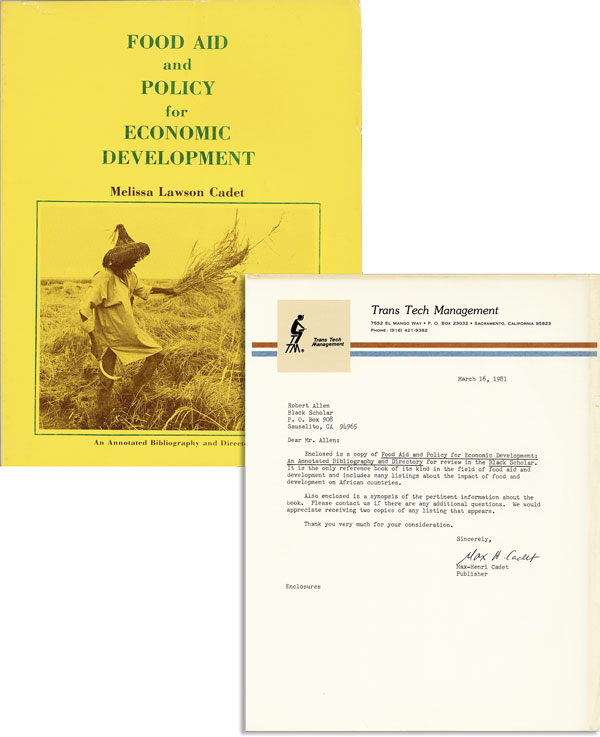 Food Aid and Policy for Economic Development: An Annotated Bibliography and Directory [Review...