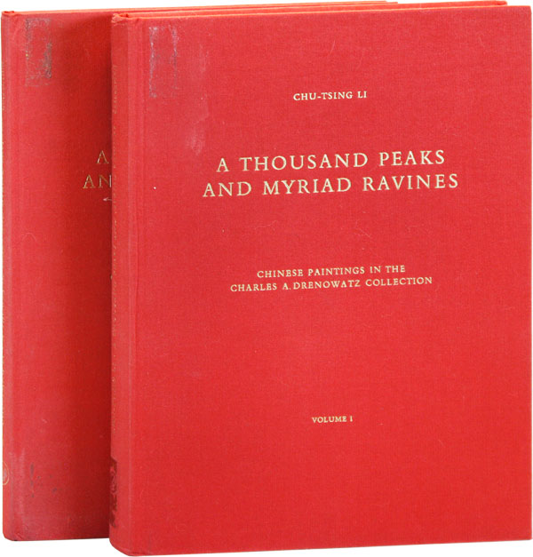 A Thousand Peaks and Myriad Ravines: Chinese Paintings in the Charles A. Drenowatz Collection,...
