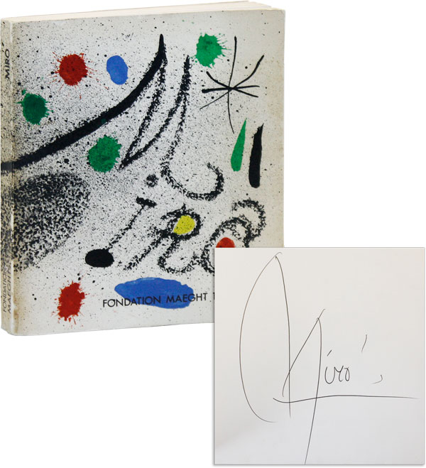 Miró [Signed]. ART, Joan MIRÓ, Fondation Maeght