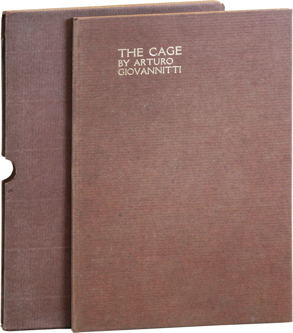 The Cage. RADICAL, PROLETARIAN LITERATURE - I. W. W