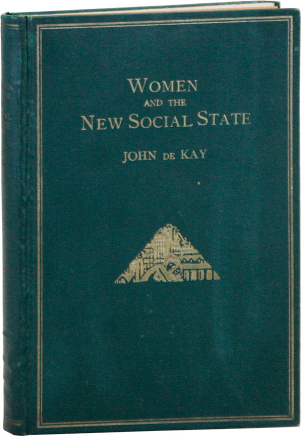 Women and the New Social States. John DE KAY, cover design Frans Masereel
