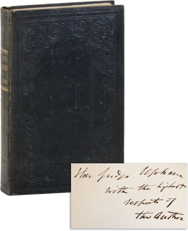 Mission to England, in Behalf of the American Colonization Society [Inscribed]. R. R. GURLEY