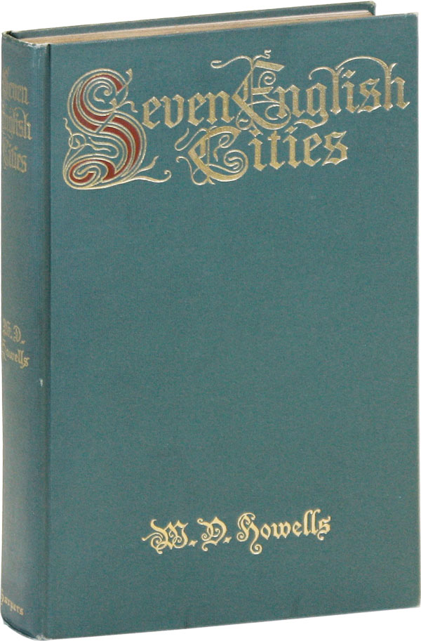 Seven English Cities. William Dean HOWELLS