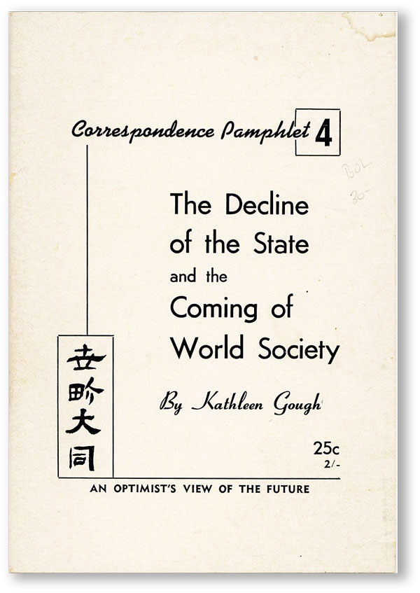 The Decline of the State and the Coming of World Society: an Optimist's View of the Future....