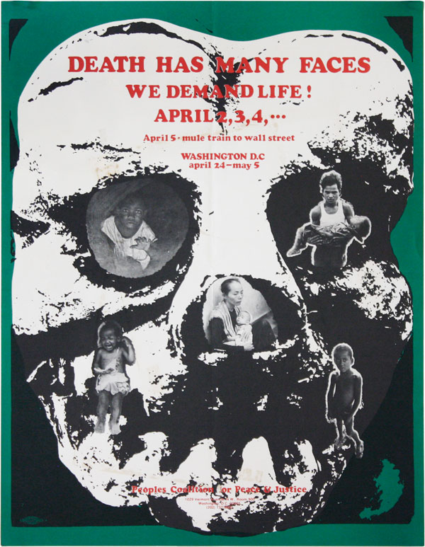 Death Has Many Faces - We Demand Life! Peoples Coalition for Peace, Justice