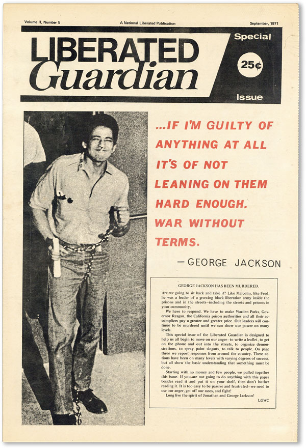 Liberated Guardian - Vol.II, No.5 (September, 1971). NEW LEFT