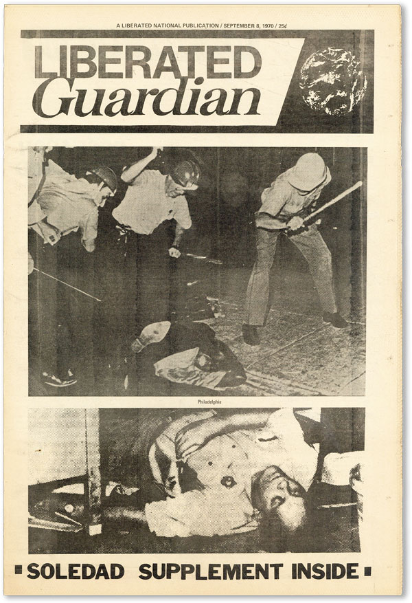 Liberated Guardian - Vol.I, No.9 (September 8, 1970). NEW LEFT