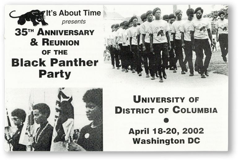 Drop title] It's About Time Presents 35th Anniversary & Reunion of the Black Panther Party /...