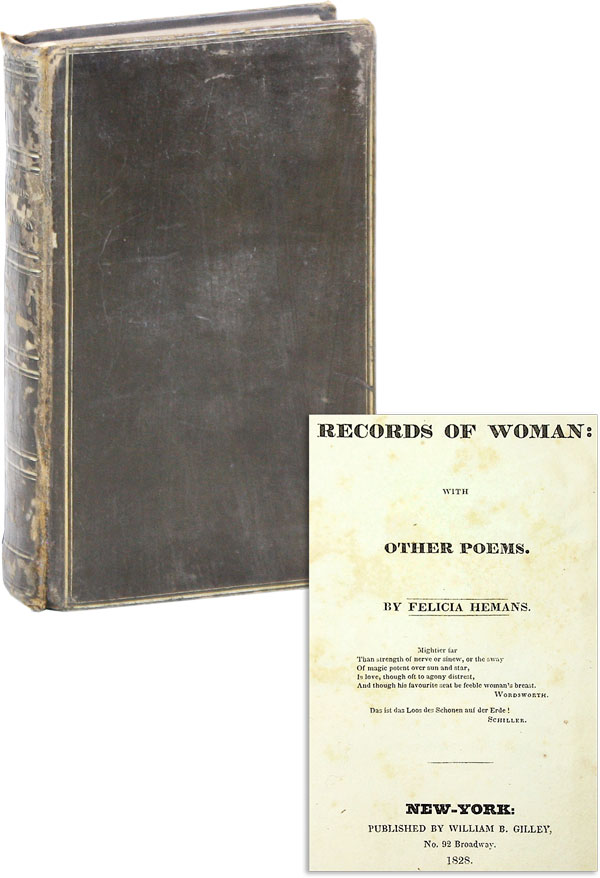 Records of Woman: With Other Poems. WOMEN, Felicia HEMANS