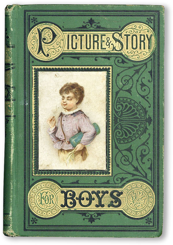 Picture & Story for Boys. Mrs. E. DAVIS, aroline, elly