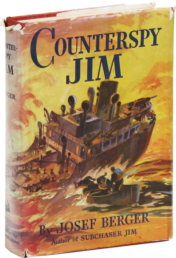 Counterspy Jim. Josef BERGER, Jack Coggins