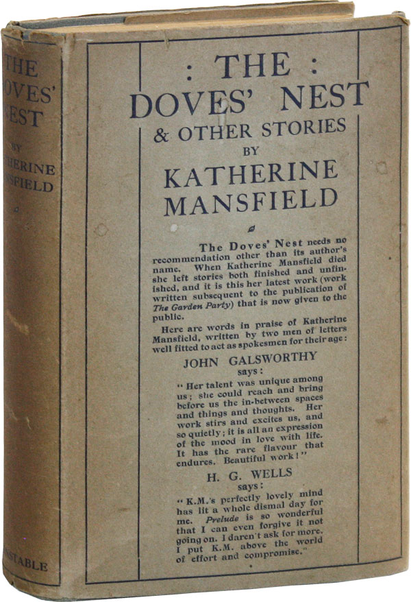The Dove's Nest & Other Stories. Katherine MANSFIELD, John Middleton Murry, intro