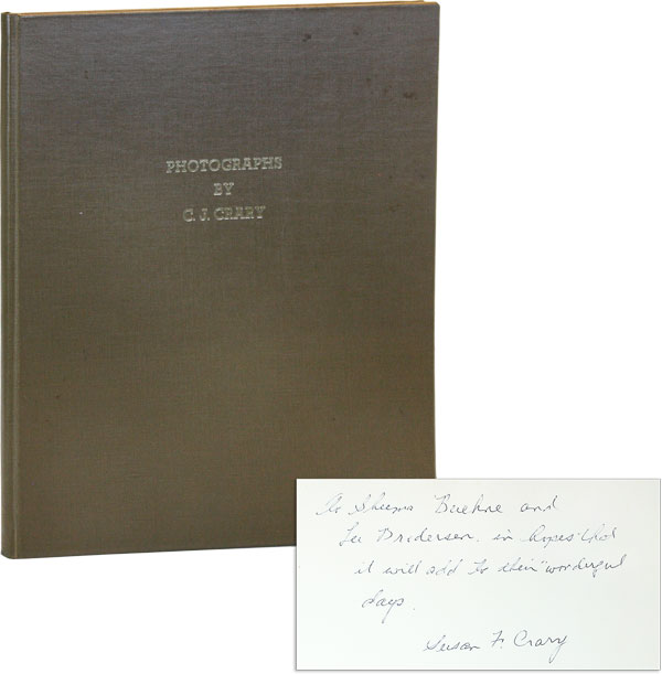 Photographs [Inscribed and Signed by Susan F. Crary]. C. J. CRARY