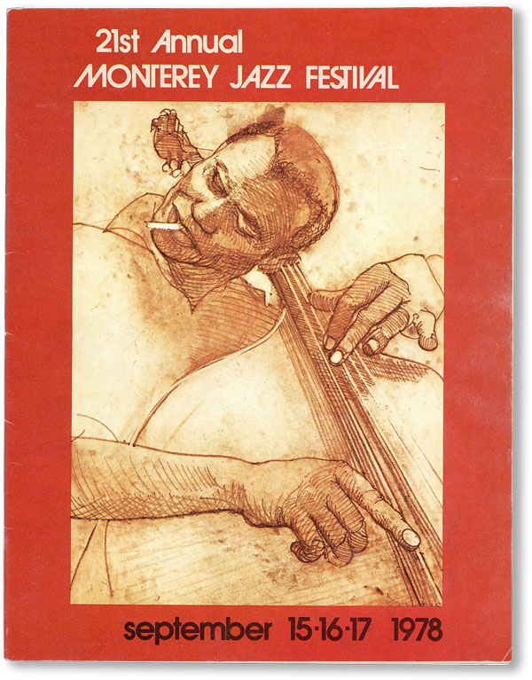 Official Program] 21st Annual Monterey Jazz Festival, 1978. MONTEREY JAZZ FESTIVAL, Susan...