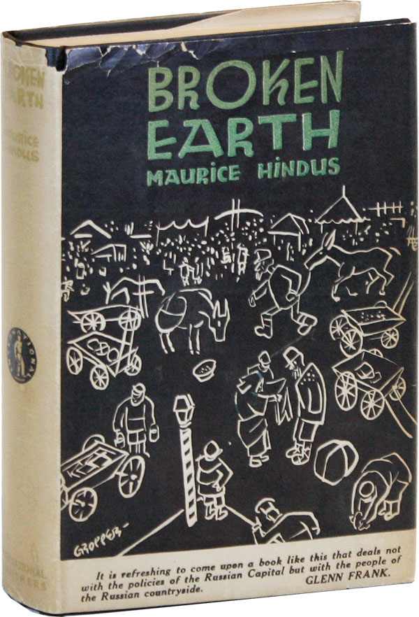 Broken Earth. Maurice : GROPPER HINDUS, William, text, jacket design