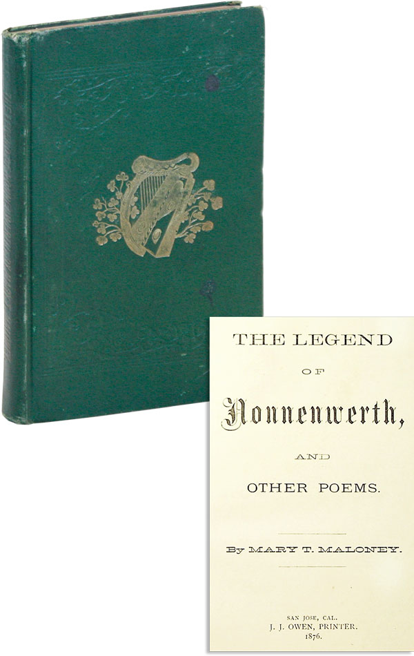 The Legend of Nonnenwerth, and Other Poems. Mary MALONEY, eresa