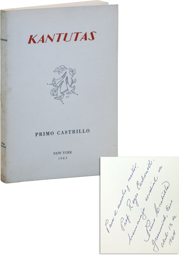 Kantutas [Inscribed and Signed]. AMERICA LATINA, Primo CASTRILLO