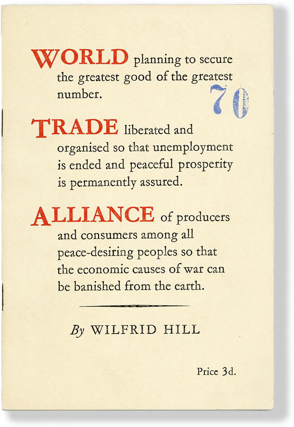 World Trade Alliance. Wilfrid HILL