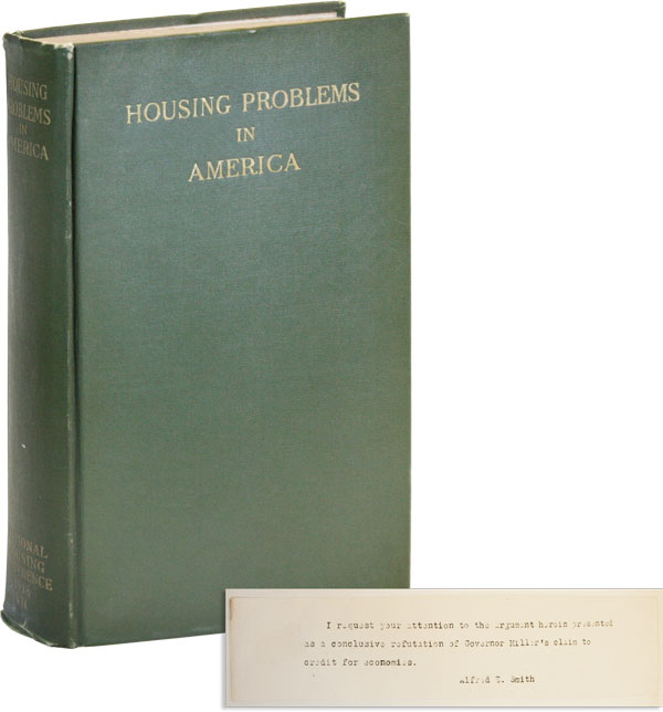 Housing Problems in America: Proceedings of the Seventh National Conference on Housing, Boston,...