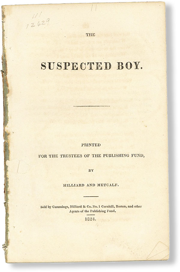 The Suspected Boy. ANONYMOUS