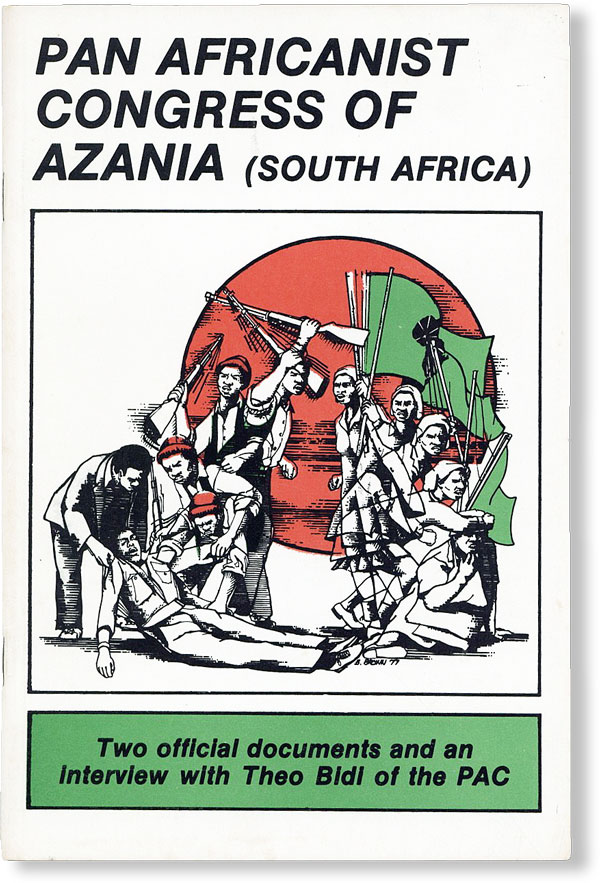 Pan Africanist Congress of Azania (South Africa). AFRICA, PAN AFRICANIST CONGRESS