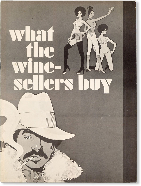 Woodie King, Jr. and M. Septee present What the Wine Sellers Buy - A New Play by Ron Milner....