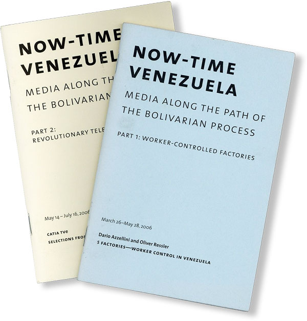 Now-Time Venezuela: Media Along the Path of the Bolivarian Process / Ahora-Tiempo Venezuela: Los...