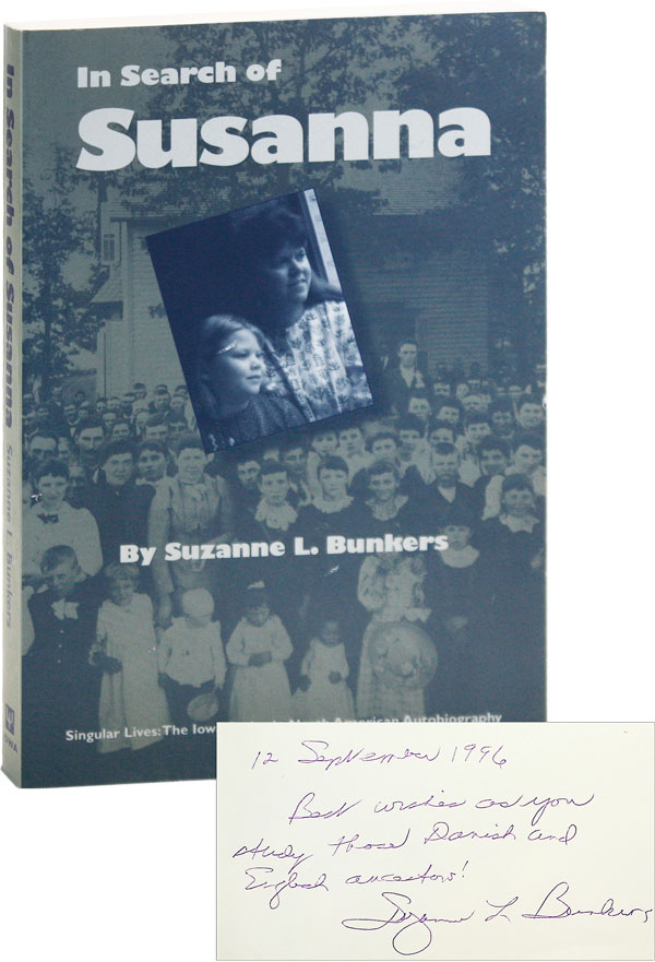 In Search of Susanna. Foreword by Albert E. Stone. Suzanne L. BUNKERS