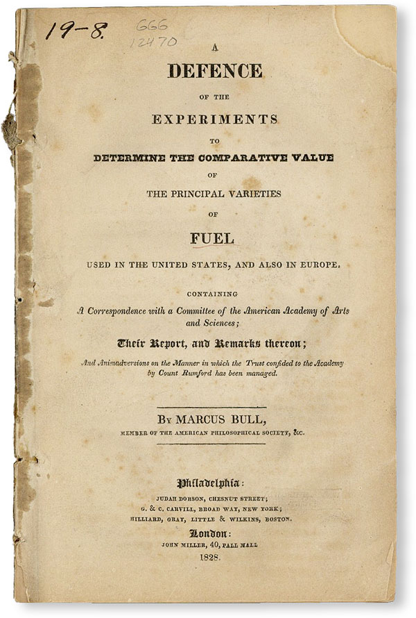 A Defence of the Experiments to Determine the Comparative Value of the Principal Varieties of...