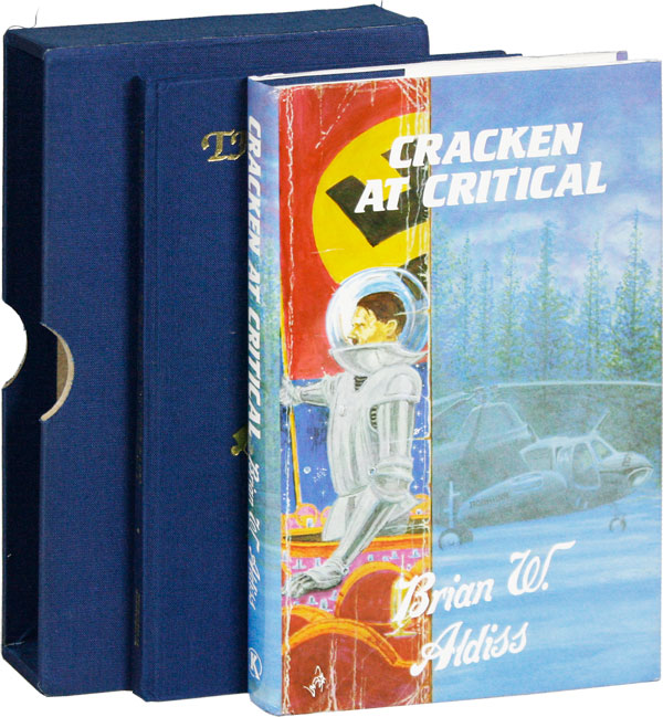 Cracken at Critical [Signed, Limited]. Brian W. ALDISS