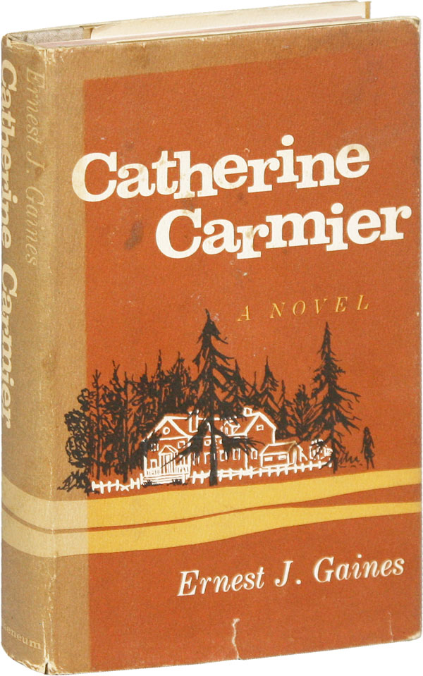 Catherine Carmier [Signed Bookplate Laid-in]. Ernest GAINES
